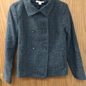 Classic Pendleton lightweight wool grey blazer